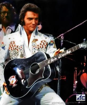 Elvis White Suit