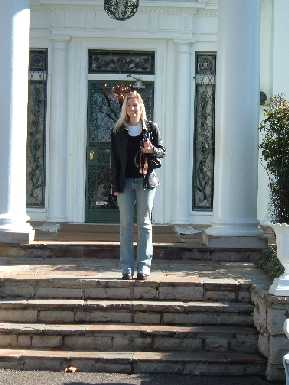 Sara at Graceland