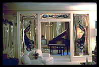 Elvis Presley picture of Graceland loungeroom