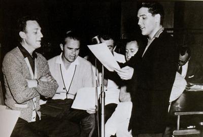 Elvis Presley Buddy Holly Joe Ely And The Cotton Club