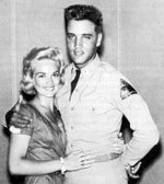 Elvis Presley biography picture with Anita Wood