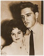 Elvis Presley pictures with young Pricilla
