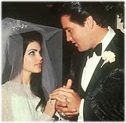 elvis priscilla wedding picture