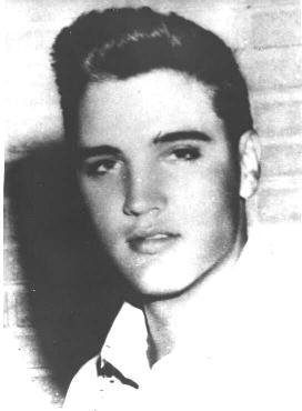 Elvis Presley picture young man