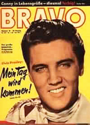 BRAVO Magazine Cover Elvis Presley (Schrembs Collection)